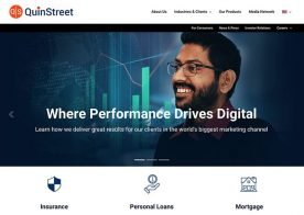 quinstreet-new-website